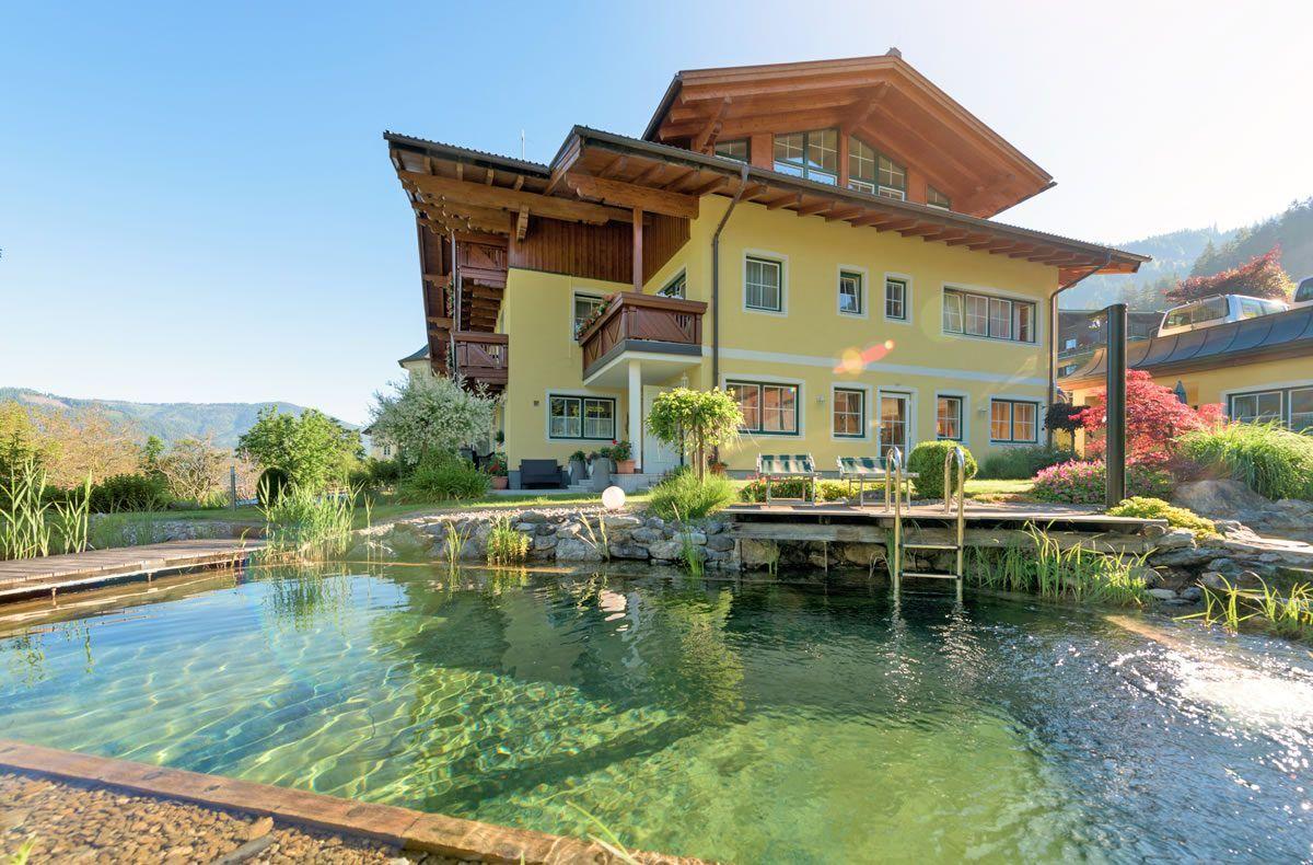 Garten & Schwimmteich Haus am Hammerrain